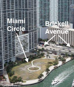 Miami Circle Aerial