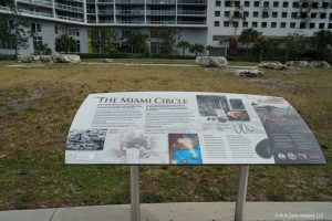 Miami Circle Ground Level