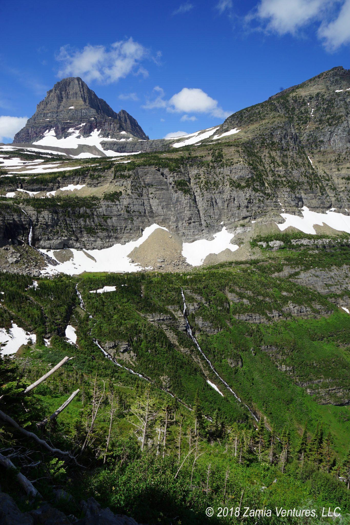 Gaping at Eastern Glacier National Park