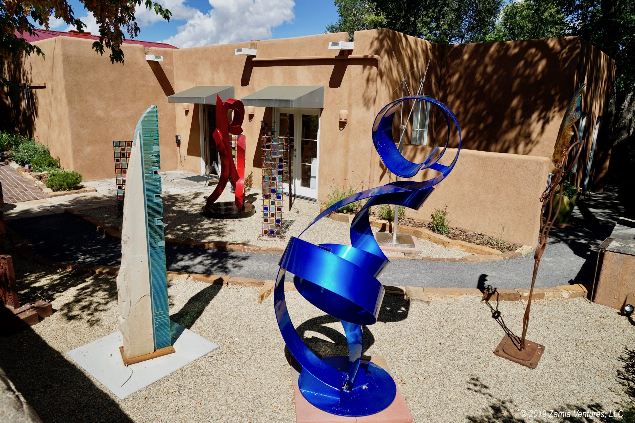 Art, Architecture, Art, History, and More Art in Santa Fe